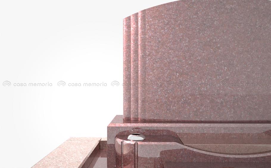 やさしいアールを描く大らかな印象のフォルム